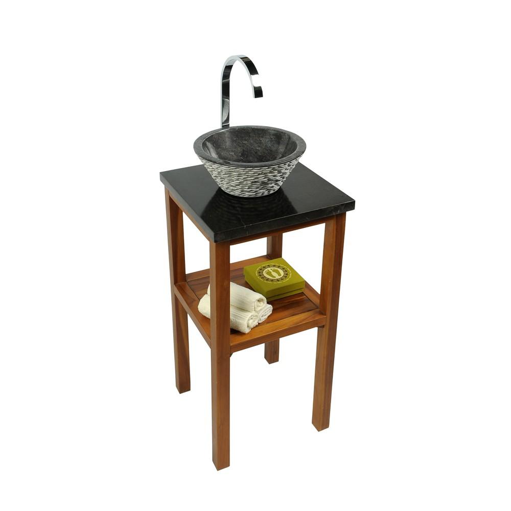 naturstein marmor waschbecken waschschale waschtisch 30 cm klein schwarz ebay. Black Bedroom Furniture Sets. Home Design Ideas