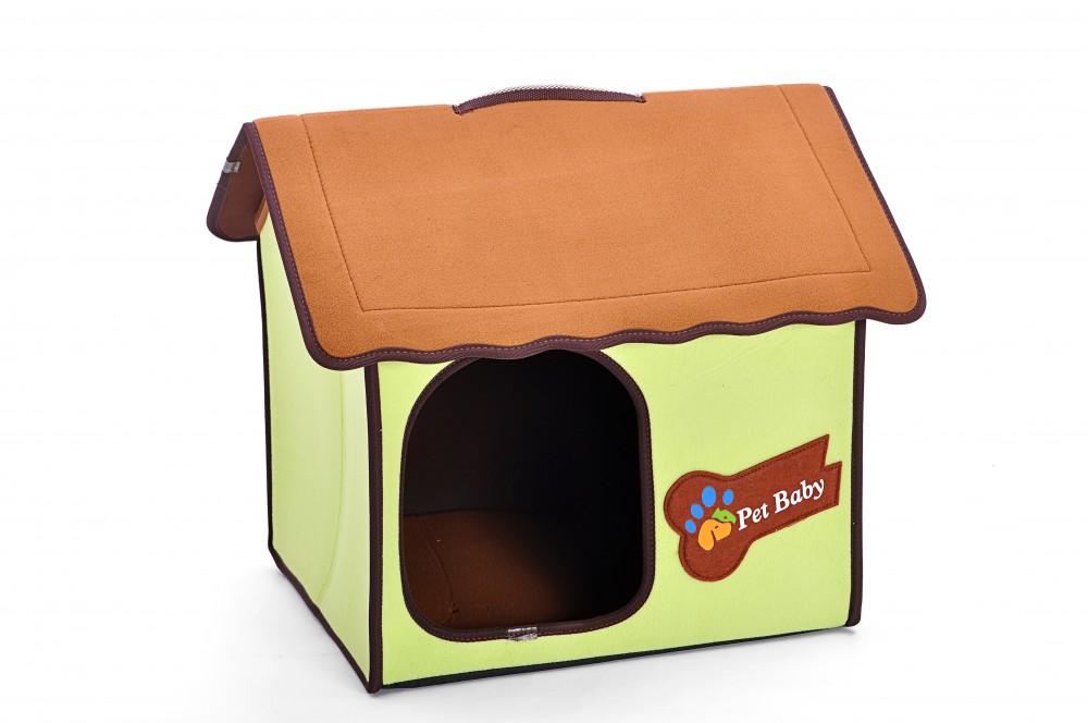 indoor hundeh tte hundehaus katzenh hle tierh hle f r wohnung gr n 53x47x44 cm ebay. Black Bedroom Furniture Sets. Home Design Ideas