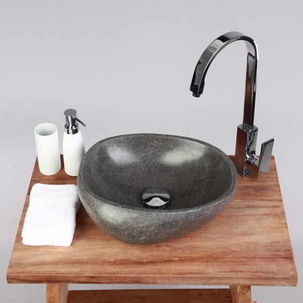 naturstein waschbecken 30cm poliert flu stein waschschale. Black Bedroom Furniture Sets. Home Design Ideas