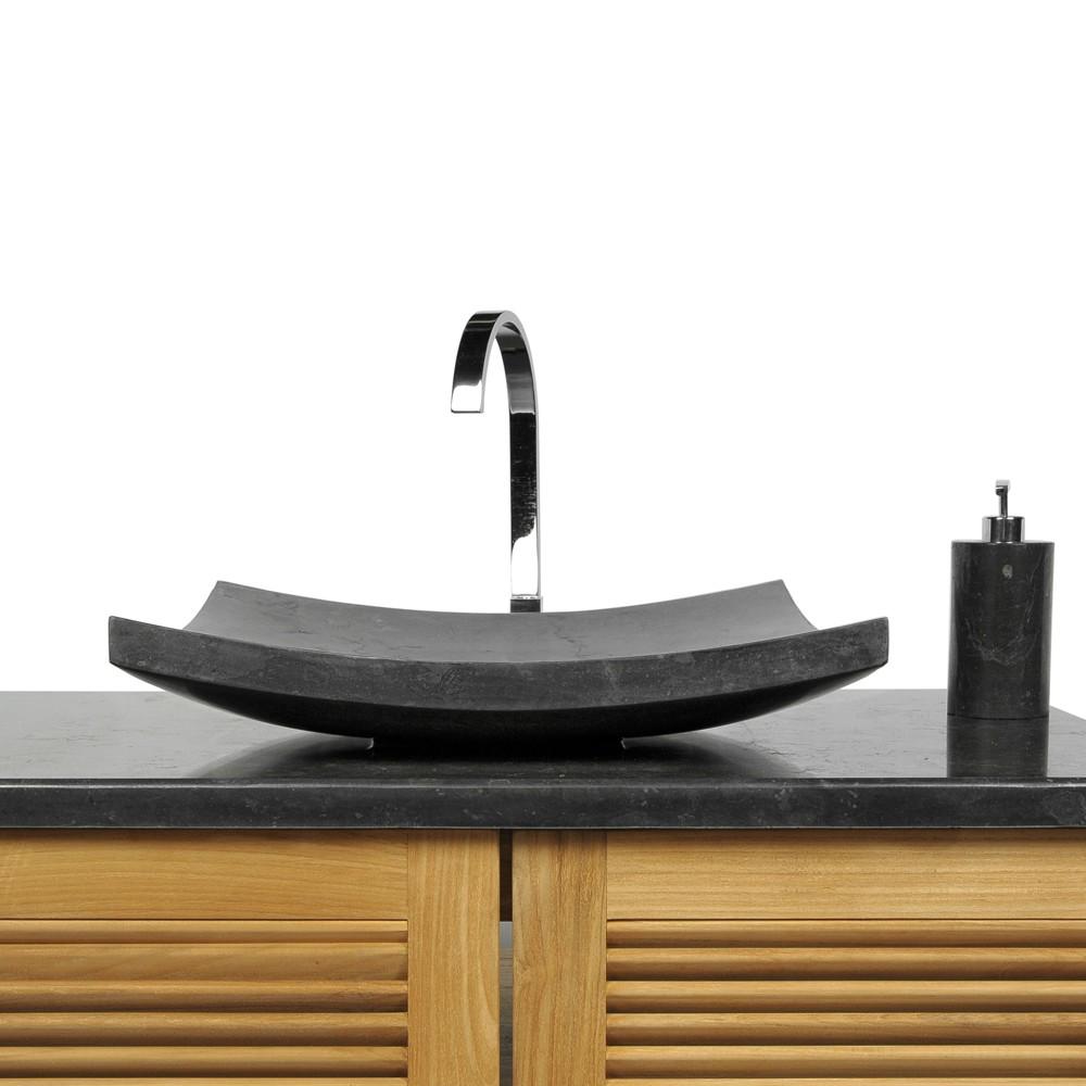 naturstein marmor stein waschbecken zen waschtisch. Black Bedroom Furniture Sets. Home Design Ideas