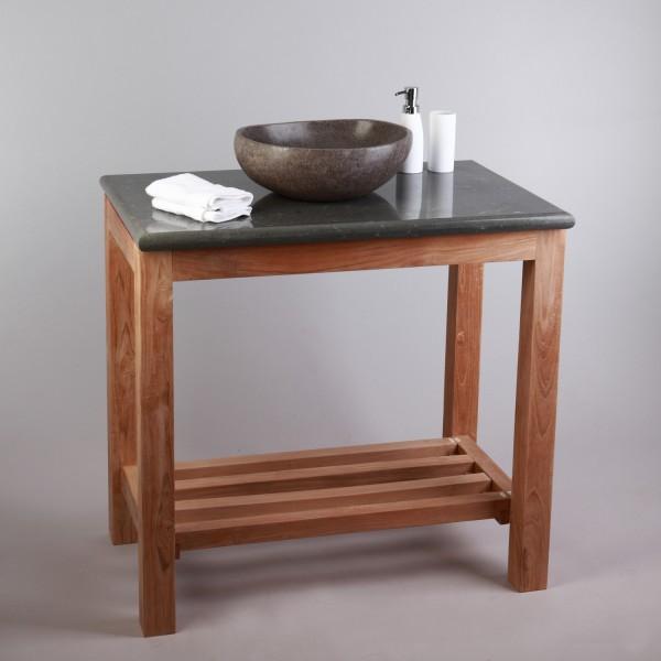 stein waschtischplatte grau waschtisch natursteinplatte 80. Black Bedroom Furniture Sets. Home Design Ideas